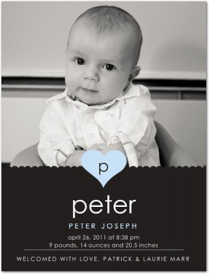 Pete Birth Announcement