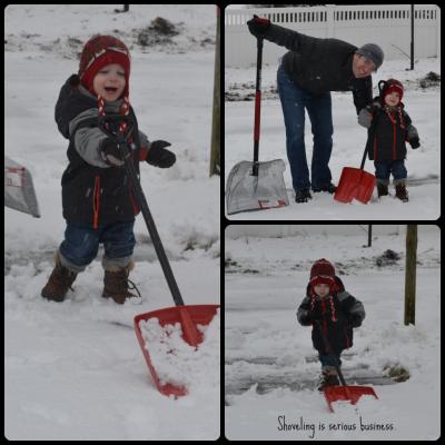 shovel collage