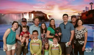 Niagara Falls Family Photo