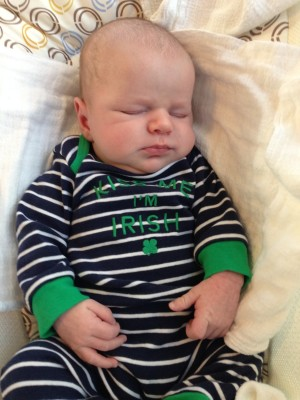 A Sleepy St. Paddy's Day!
